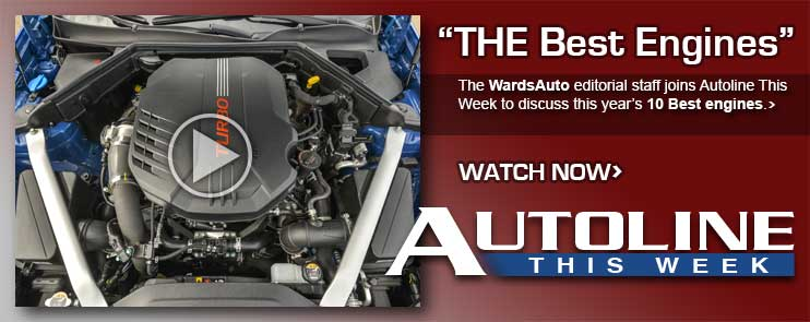 The WardsAuto editorial staff joins Autoline This Week to discuss this year's 10 Best engines