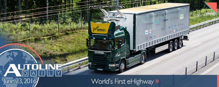 Scania and Siemens develop electric highway for commercial trucks