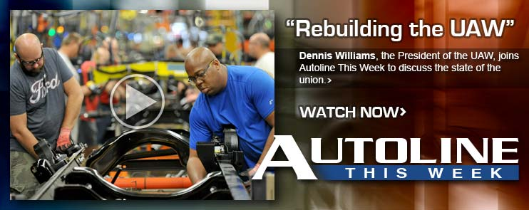 Dennis Williams, the President of the UAW, joins Autoline This Week to discuss the state of the union