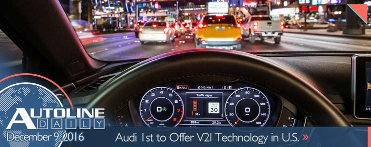Audi 1st to offer V2I technology in U.S.