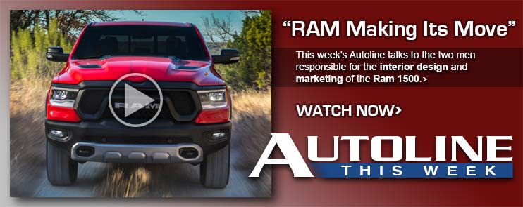 This week's Autoline talks to the two men responsible for the interior design and marketing of the Ram 1500