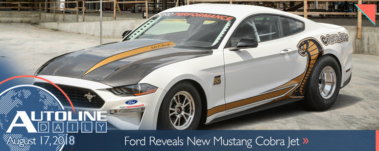 Ford unveils the all-new Mustang Cobra Jet