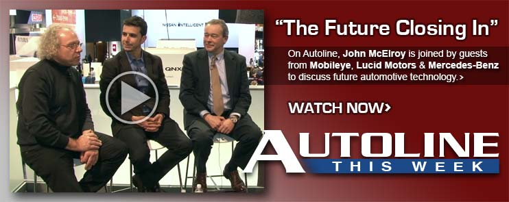 John McElroy is joined by guests from Mobileye, Lucid Motors & Mercedes-Benz to discuss future automotive technology