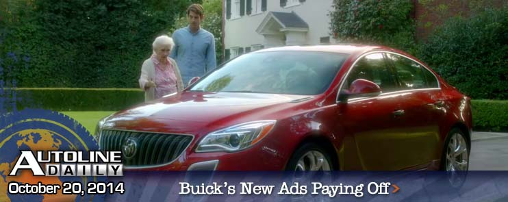 Buick's New TV Ads Paying Off