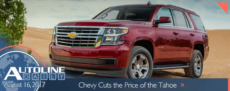Chevy cuts the price of the Tahoe
