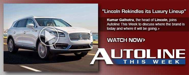 Kumar Galhotra, the head of Lincoln, joins Autoline This Week to discuss where the brand is today and where it will be going