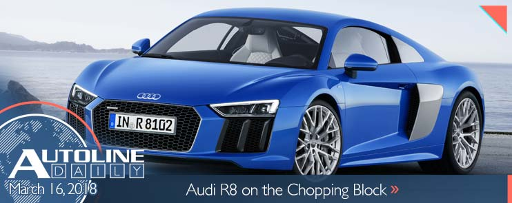 Audi R8 on the chopping block