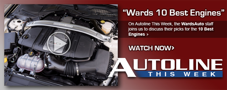 On Autoline This Week, the Wards Auto staff joins us to discuss their picks for the 10 Best Engines