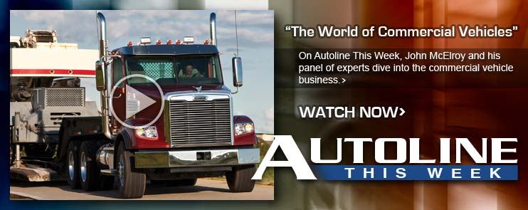 On Autoline This Week we take a look at the commercial vehicle business